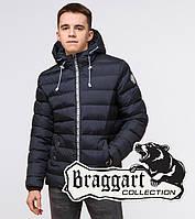 Подросток 13-17 лет | Куртка зимняя Braggart Teenager 76025 сине-черная, фото 1
