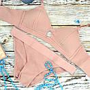 Комплект женского нижнего белья розовый, фото 3
