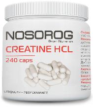 Креатин гидрохлорид в капсулах  NOSOROG Nutrition Creatine HCl 240 caps
