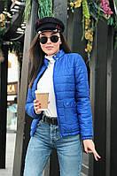 Женская демисезонная куртка на 100 синтипоне4расцв. (42,44,46р.)