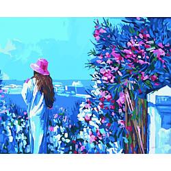 Картина по номерам Роспись на холсте Прогулка по набережной КНО2119
