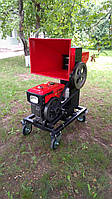 Измельчитель веток ARCADA с дизельным двигателем 8 к.с. CAD-110Д
