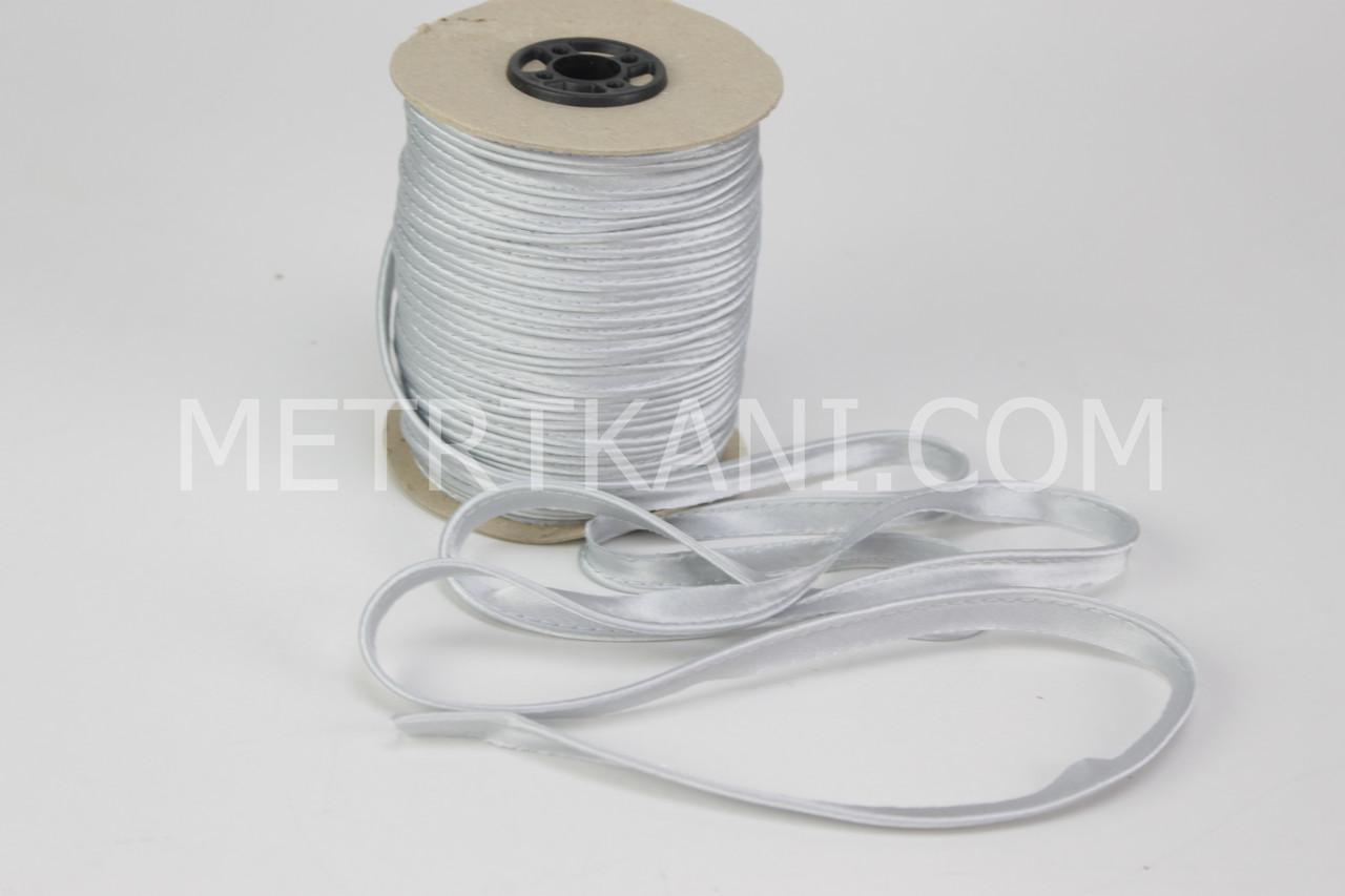 Кант атласный, цвет светло-серый  № АТ-5