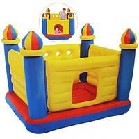 Детский надувной батут-замок intex 48259 (175х175х 135 см) hn, кк