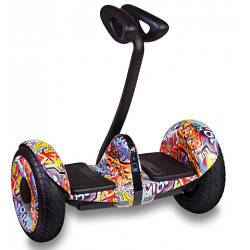 "Мини Сигвей Mini Robot колеса 10.5"" Bluetooth граффити"