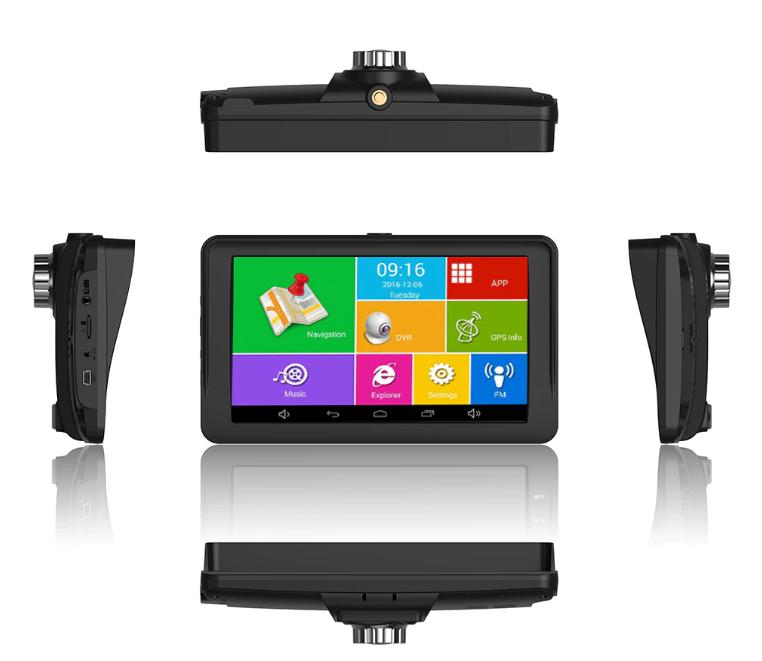 Навигатор планшет-регистратор автомобильный Terra M515