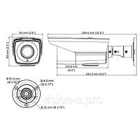 Цилиндрическая видеокамера Hikvision DS-2CE16D0T-VFIR3 (2.8-12 мм), фото 2