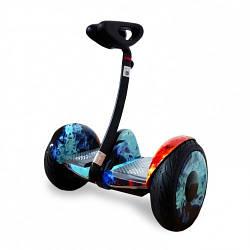 """Міні Сігвей Mini Robot колеса 10.5"""" Bluetooth вогонь і лід"""