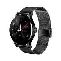 Смарт часы K88H, черный стальной ремешок, Смарт-часы
