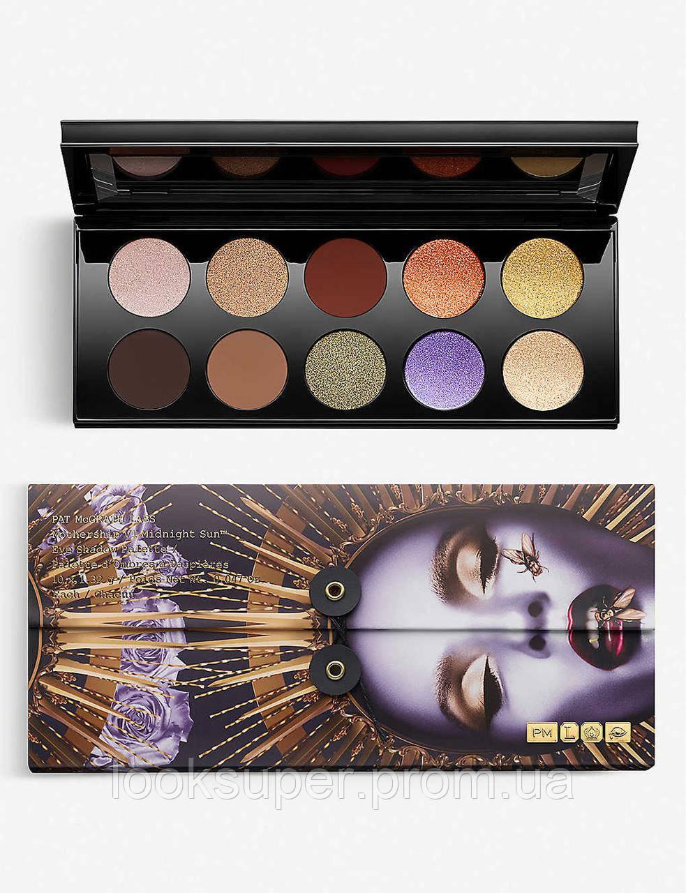 Палетка теней Pat McGrath Labs Mothership VI Eyeshadow Palette Midnight Sun