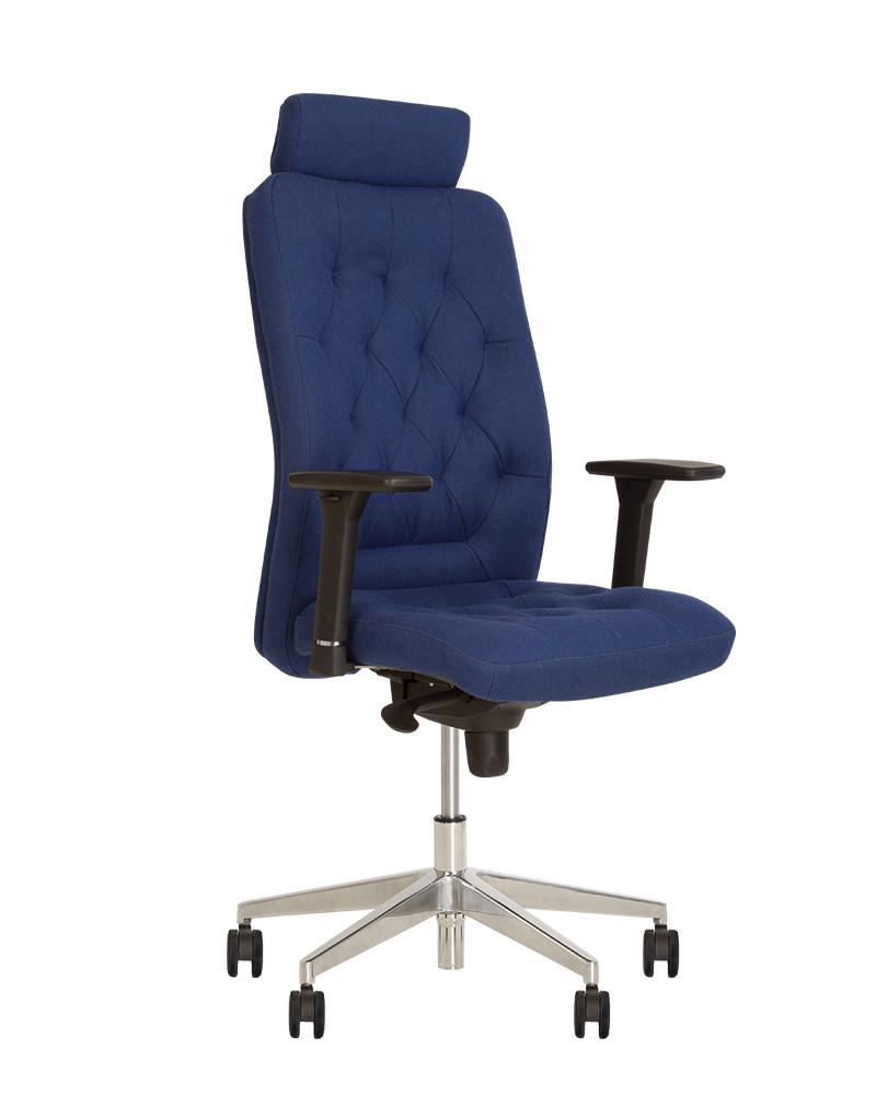 Кресло офисное Chester R HR steel механизм ES крестовина AL 70, ткань CUZ-1y (Новый Стиль ТМ)