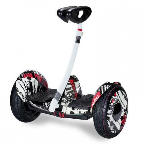 """Міні Сігвей Mini Robot колеса 10.5"""" Bluetooth газета"""