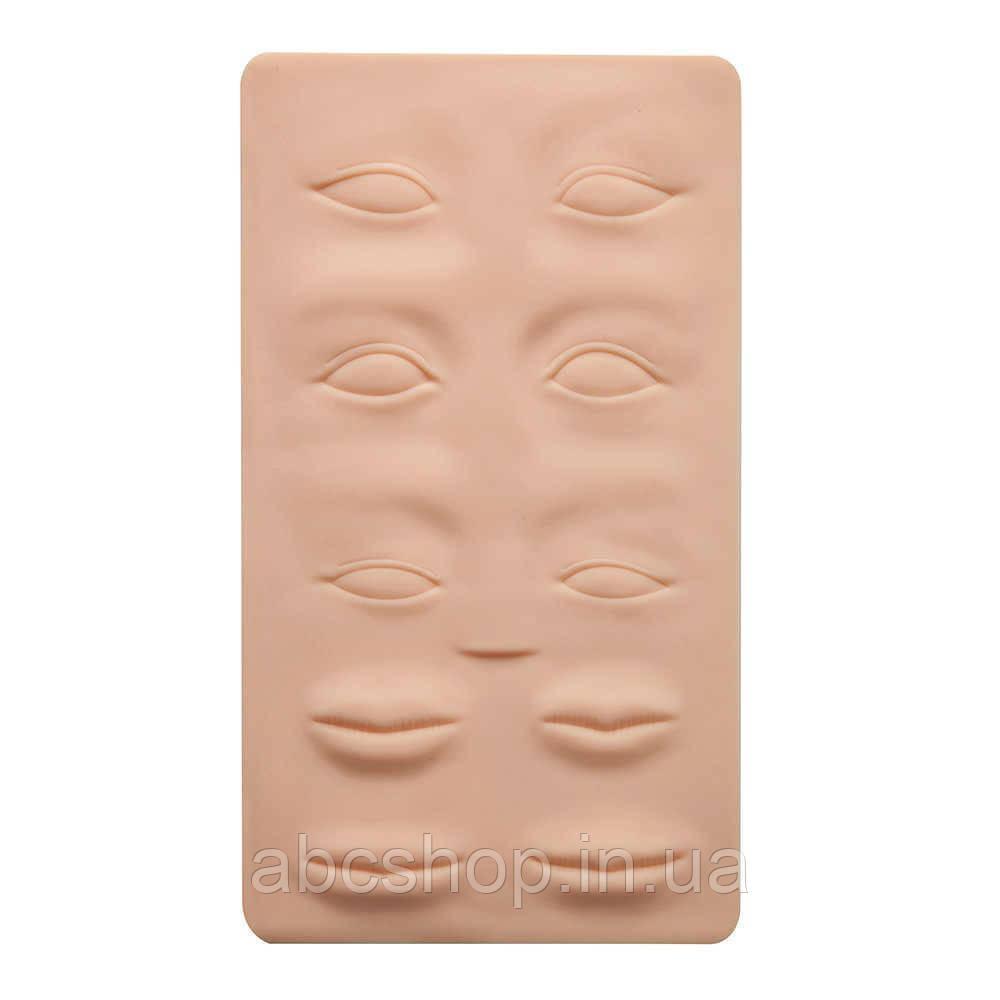 """Латексный коврик 3D """"Глаза, губы, брови"""""""