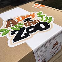 Розвиваюча коробочка - Один день в зоопарку кота Валерки 2-6 років, фото 1