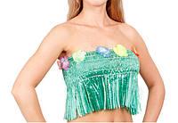 Гавайский топ цвет зеленый, размер 30х30 см