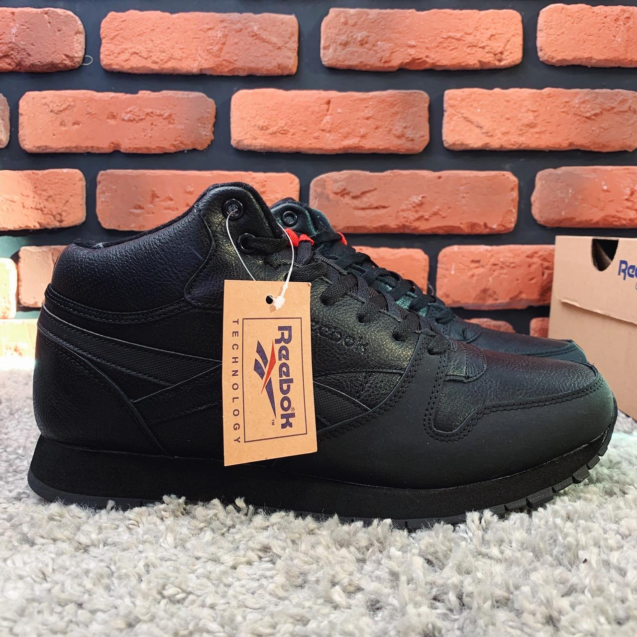 Зимние ботинки (НА МЕХУ) мужские Reebok Classic 2-160 ⏩ [ 44.44,45,46 ]