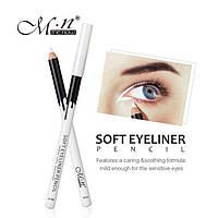 Белый карандаш водостойкий Soft Eyeliner
