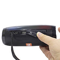 ➨Bluetooth колонка T&G TG157 Black портативная беспроводная карта памяти юсб флешка, фото 2