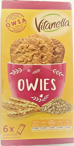 Печеньe Vitanella Owies 300 g, фото 2