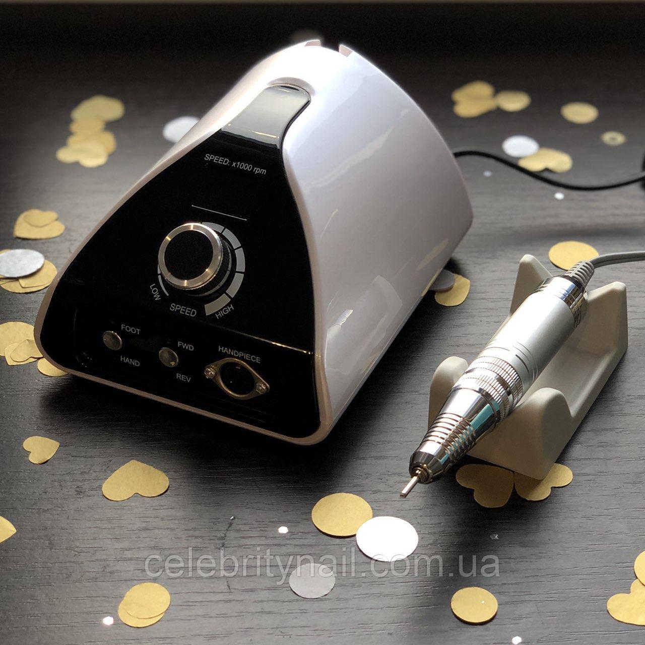Фрезер для маникюра Nail Drill ZS-711 PRO WHITE (65 Вт, 35000 оборотов)