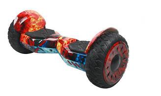 Гироскутер  Smart Balance 10.5 дюйм Wheel Огненный космос