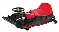 Электромобиль дрифт-карт детский Razor Crazy Cart Shift скорость 13км/ч черно-красный цвет реплика