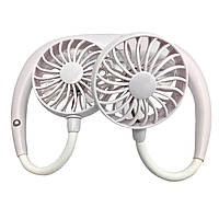 Вентилятор DK Neck Double Cooler 1.2W (white)
