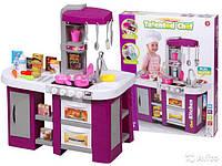 Большая детская кухня 922-47 со звуком, светом и водой