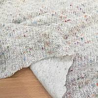 Трикотажная пальтовая ткань светло-серая