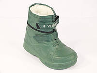 Ботинок детский зеленый, фото 1