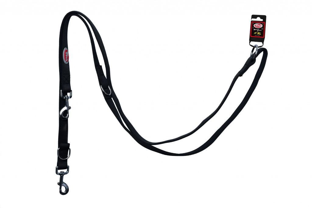 Поводок Pet Nova Adjust S 1.5 х 240 см Черный