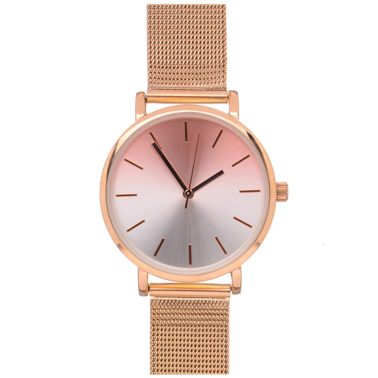 Жіночий годинник Even&Odd 17-079 Gold Pink
