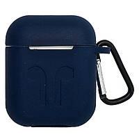 Чехол-накладка силикон DK Candy Mold для Apple AirPods (dark blue)