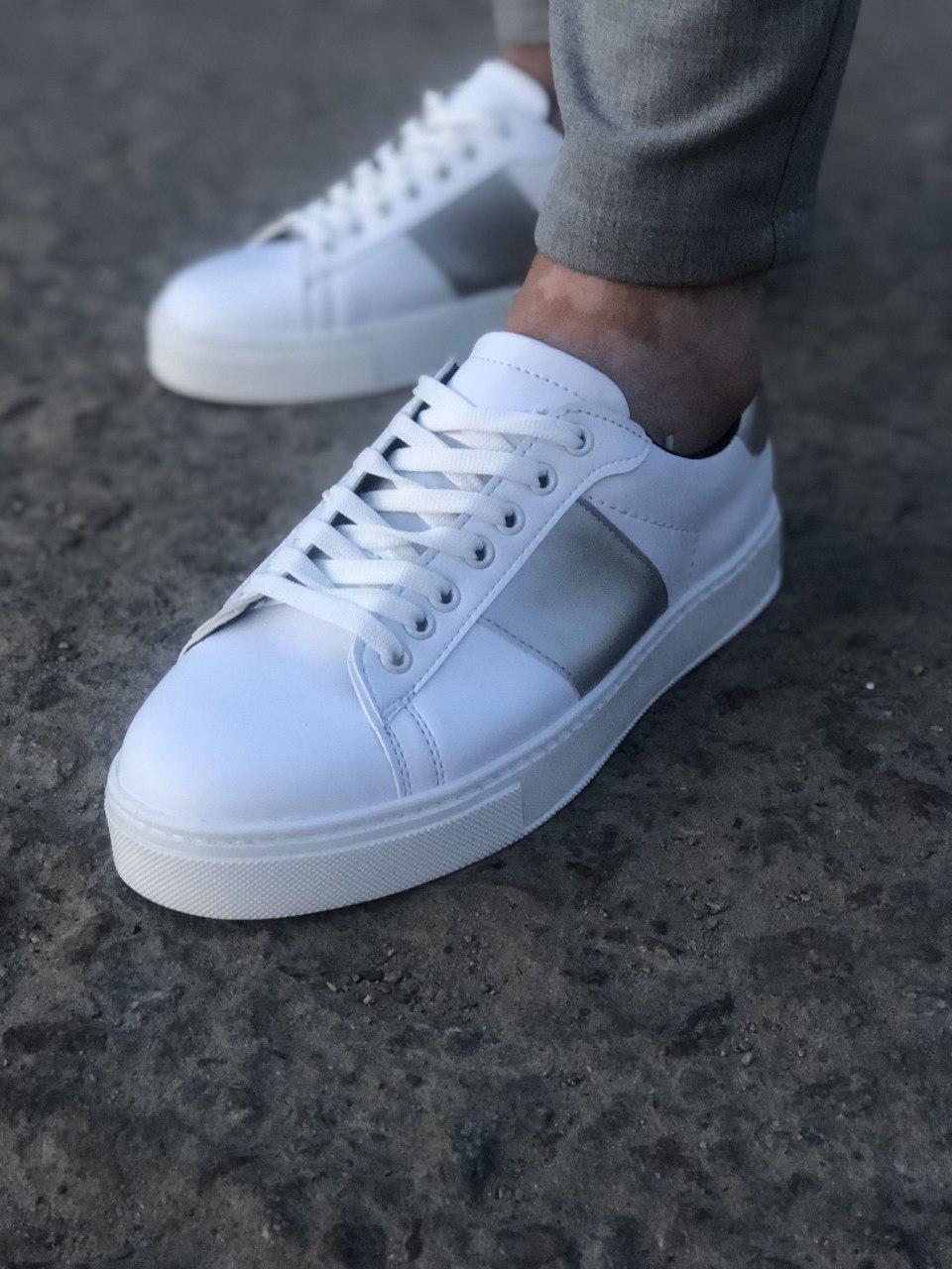 Мужские кроссовки Paul Cruz 14 white/grey