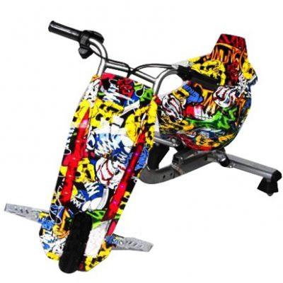 Электрический скутер для райдеров Дрифт-карт Windtech Drift Cart 8″ Crazy Bug Хип-Хоп