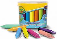 Восковые мелки в бочонке для малышей 24шт Crayola 0784