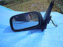 Зеркало заднего вида левое Nissan Almera N15 3 двери зеленое, фото 2