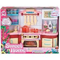Детский игровой набор - Кухня  Медовая семья 4 предмета QunFengToys (2801S/R)