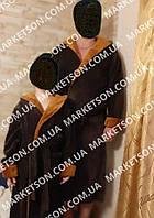 Комплект фэмили лук, махровый халат папа и сын.Цвета разные.