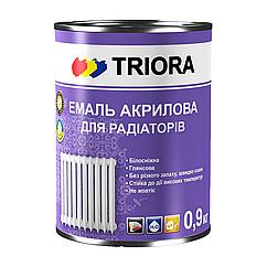 Акриловая эмаль для радиаторов Triora 0.9л