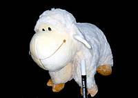 Подушка овечка 43*32 см детские мягкие игрушки детская подушка-игрушка