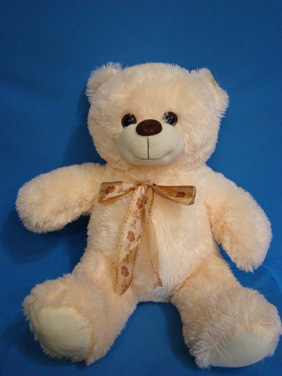 Мягкий плюшевый Мишка 50 см с бантом мягкая игрушка милый медведь