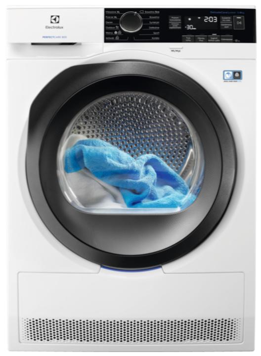 Сушильный автомат с тепловым насосом Electrolux EW8H258SP
