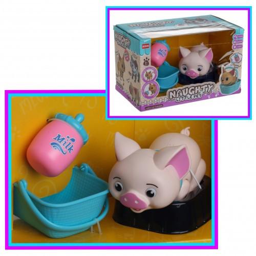 Интерактивный домашний питомец Свинка
