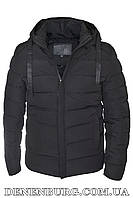 Куртка зимняя мужская HDGF 19-9978 черная, фото 1