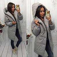 Женская теплая куртка зефирка на 250 синтипоне 5расцв.(42,44,46,48р.)