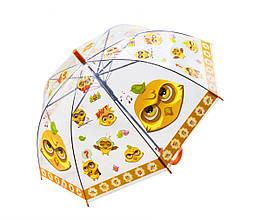 Зонтик Совята (оранжевый)