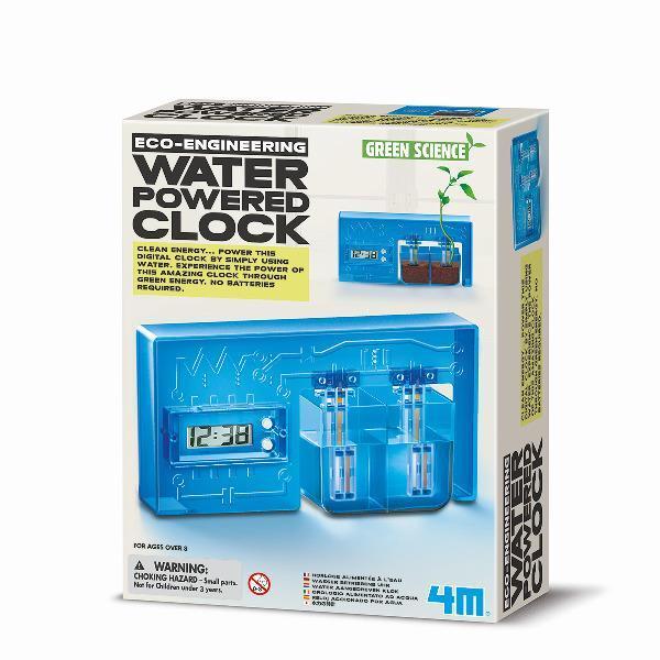 Набор для творчества 4M Часы на энергии воды (00-03411)