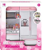 Кукольная кухня Маленькая хозяюшка-4 (розовая), Qun Feng Toys (26215Р/R)