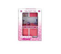 Кукольная кухня Современный дом (розовая), Qun Feng Toys (2530Р)